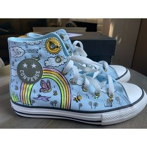 CHUCK TAYLOR ALL STAR HAPPY CAMPER HIGH-TOP